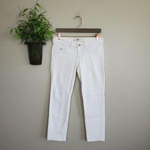 Hollister Crop Skinny Distressed Jegging Jeans 7